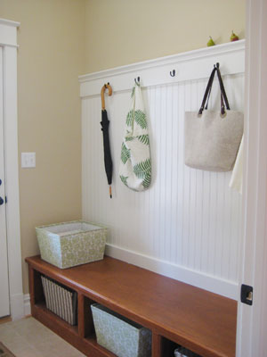 Model Home Tour Mudroom