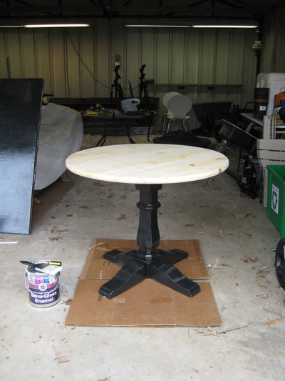 Build A Pedestal Table In An Afternoon On The Cheap