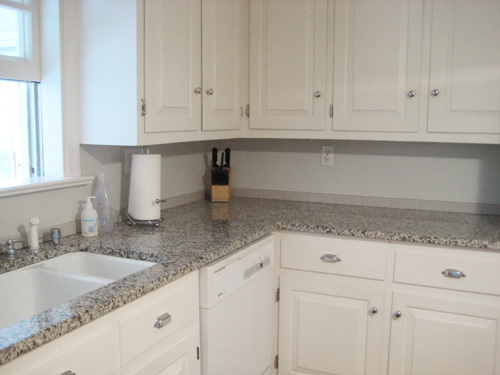 Grey Granite Kitchen Countertops light grey granite countertop | roselawnlutheran