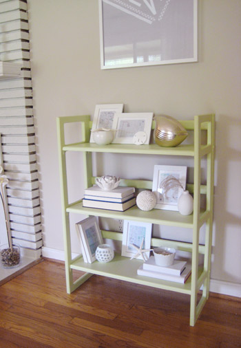 Paint A Boring Bookcase To Totally Transform It Heres