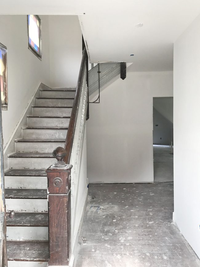 Young House Love Foyer Door : The beach house has drywall and it s glorious young